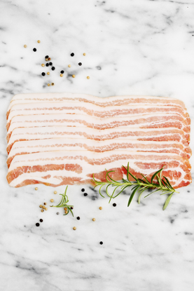 Picture of BACON SKIVAT RULLP 4X2,5KG S-A