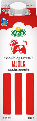 Picture of MJÖLK STANDARD 6X1L       ARLA